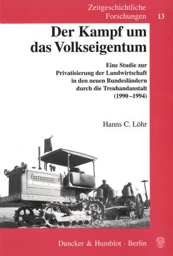 Cover: Der Kampf um das Volkseigentum