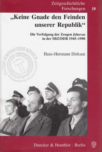 Cover: »Keine Gnade den Feinden unserer Republik«