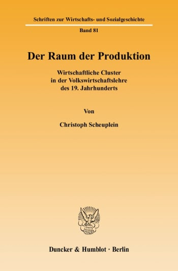 Cover: Der Raum der Produktion