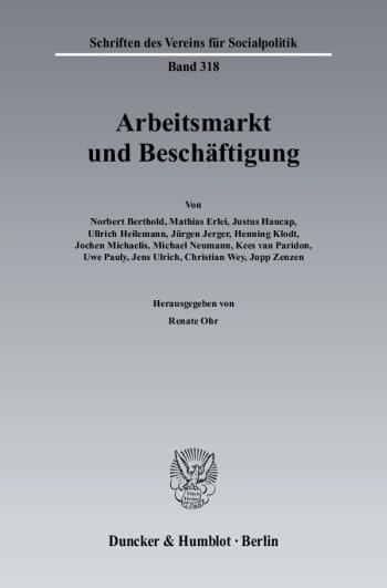 Cover: Arbeitsmarkt und Beschäftigung