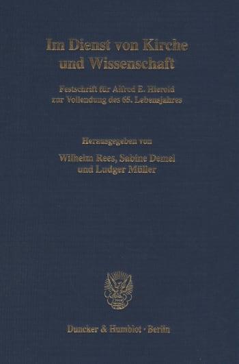 Cover: Im Dienst von Kirche und Wissenschaft