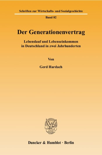 Cover: Der Generationenvertrag
