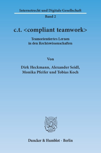 Cover: c.t. <compliant teamwork>
