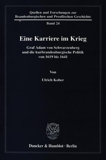 Cover: Eine Karriere im Krieg