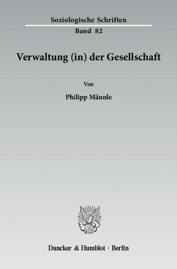 Cover: Verwaltung (in) der Gesellschaft