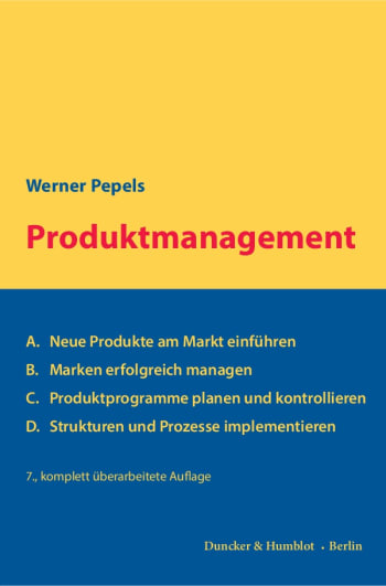 Cover: Produktmanagement