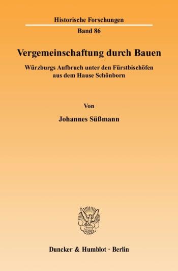 Cover: Vergemeinschaftung durch Bauen