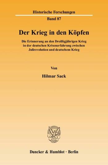 Cover: Der Krieg in den Köpfen