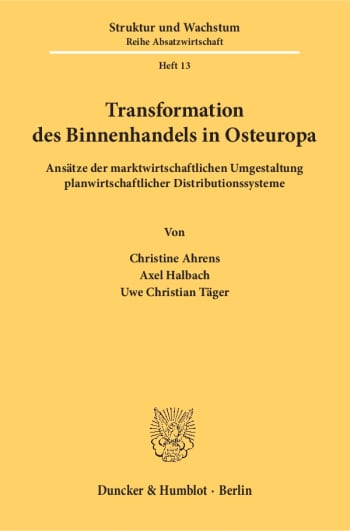 Cover: Transformation des Binnenhandels in Osteuropa
