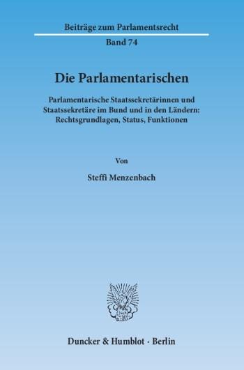 Cover: Die Parlamentarischen