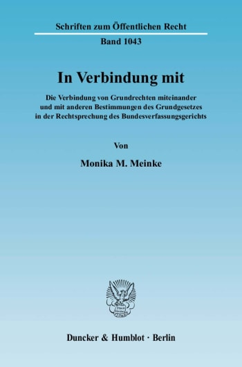 Cover: In Verbindung mit