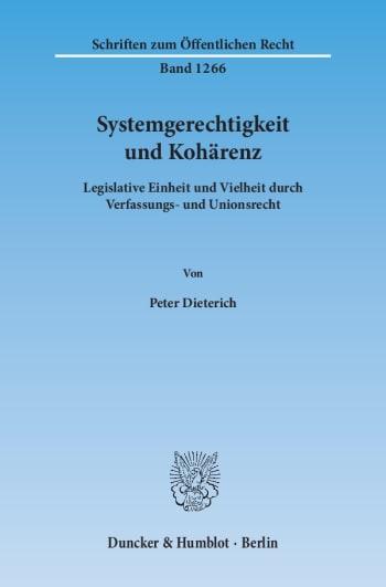 Cover: Systemgerechtigkeit und Kohärenz
