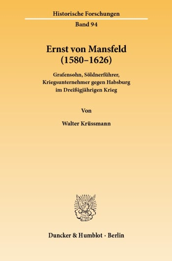 Cover: Ernst von Mansfeld (1580–1626)