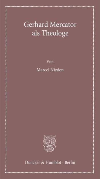 Cover: Gerhard Mercator als Theologe