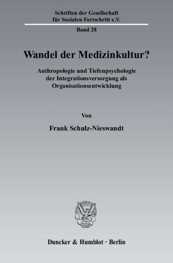 Cover: Wandel der Medizinkultur?