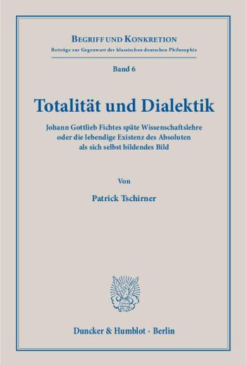 Cover: Totalität und Dialektik