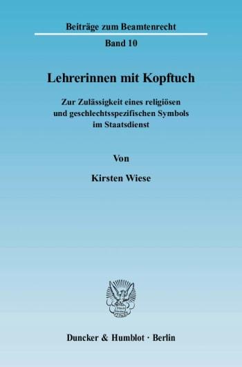 Cover: Lehrerinnen mit Kopftuch