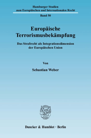 Cover: Europäische Terrorismusbekämpfung