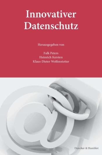 Cover: Innovativer Datenschutz