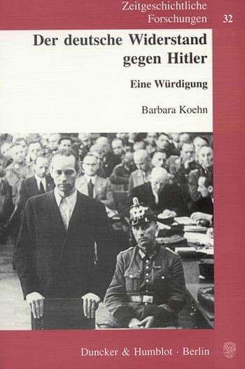 Cover: Der deutsche Widerstand gegen Hitler