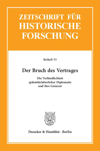Cover: Der Bruch des Vertrages