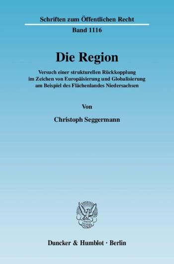 Cover: Die Region