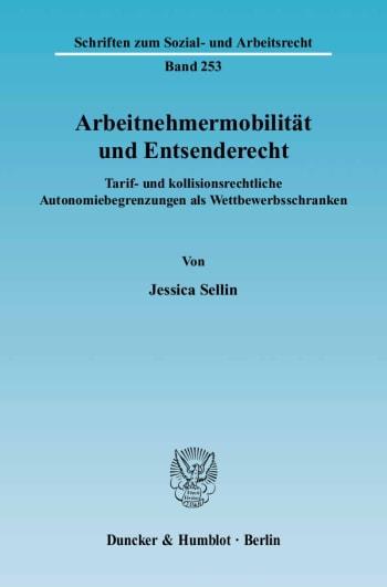 Cover: Arbeitnehmermobilität und Entsenderecht