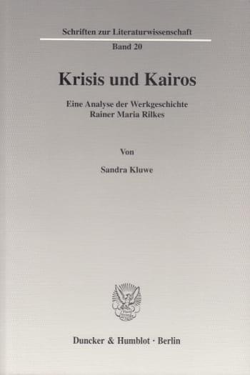 Cover: Krisis und Kairos