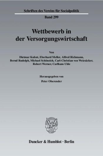 Cover: Wettbewerb in der Versorgungswirtschaft