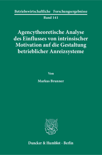 Cover: Betriebswirtschaftliche Forschungsergebnisse (BFO)