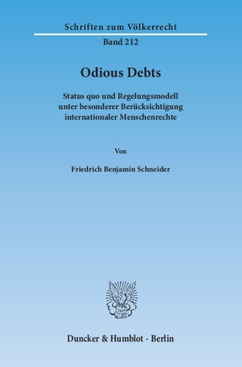 Cover: Odious Debts