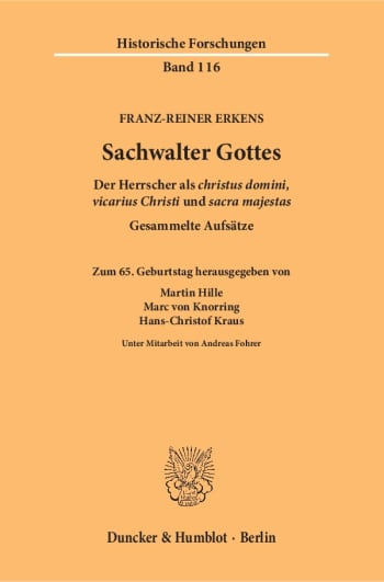 Cover: Sachwalter Gottes