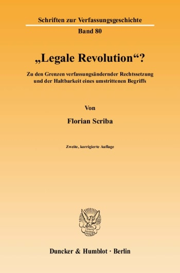 "Cover: ""Legale Revolution""?"