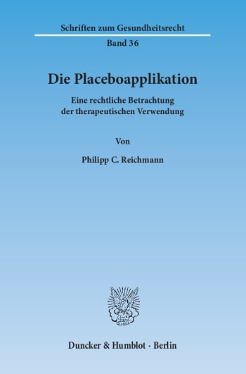 Cover: Die Placeboapplikation