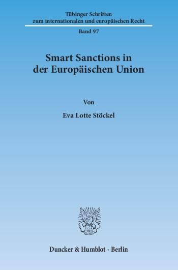 Cover: Smart Sanctions in der Europäischen Union