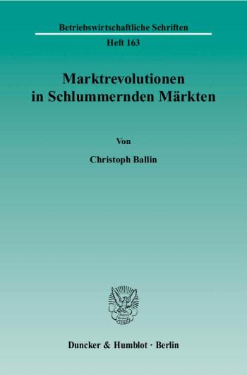 Cover: Marktrevolutionen in Schlummernden Märkten