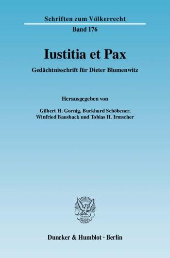 Cover: Iustitia et Pax