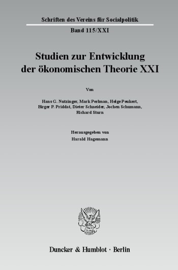 Cover: Ökonomie und Religion