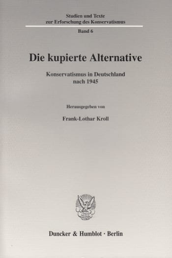 Cover: Die kupierte Alternative