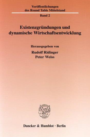Cover: Existenzgründungen und dynamische Wirtschaftsentwicklung