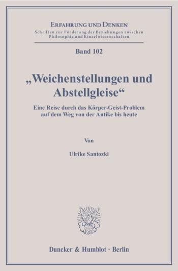 """Cover: """"Weichenstellungen und Abstellgleise"""""""