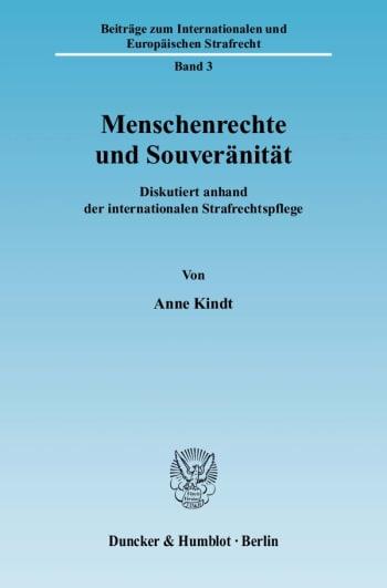 Cover: Menschenrechte und Souveränität