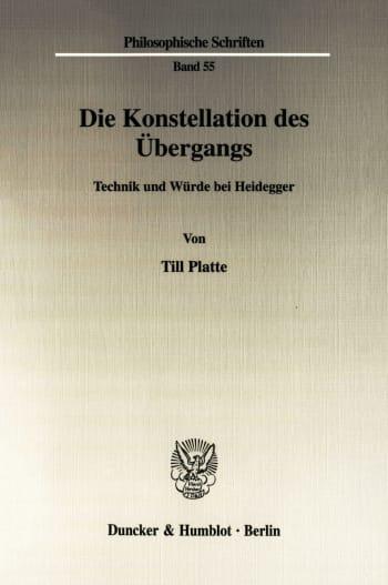 Cover: Die Konstellation des Übergangs