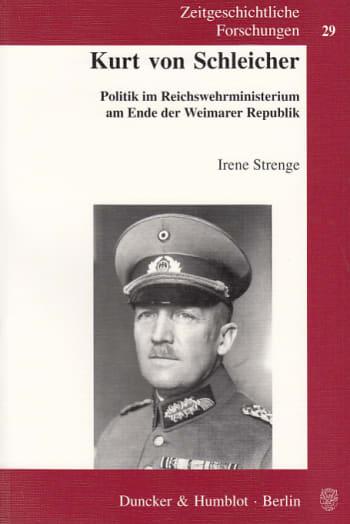 Cover: Kurt von Schleicher