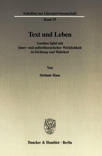 Cover: Text und Leben