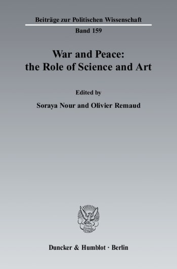 Cover: War and Peace: the Role of Science and Art