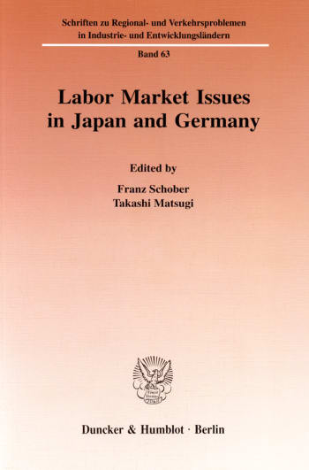 Cover: Labor Market Issues in Japan and Germany