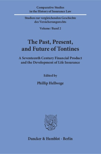 Cover: The Past, Present, and Future of Tontines
