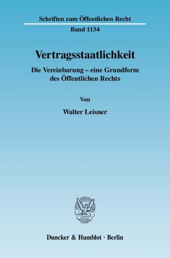 Cover: Vertragsstaatlichkeit