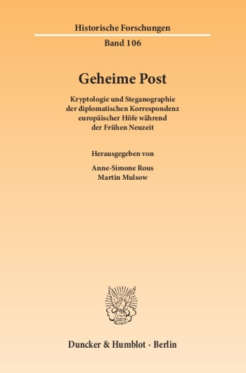 Cover: Geheime Post